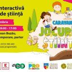 Afis Caravana Jocurile Stiintei nov 2019